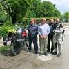 With Toshe's crew