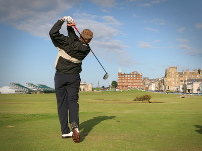 Colin Montogomerie at Old Course St Andrews