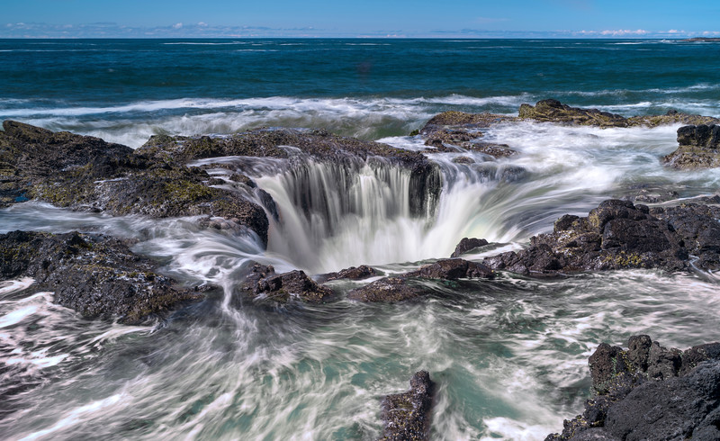 Thors Well, Cape Perpetua, Oregon