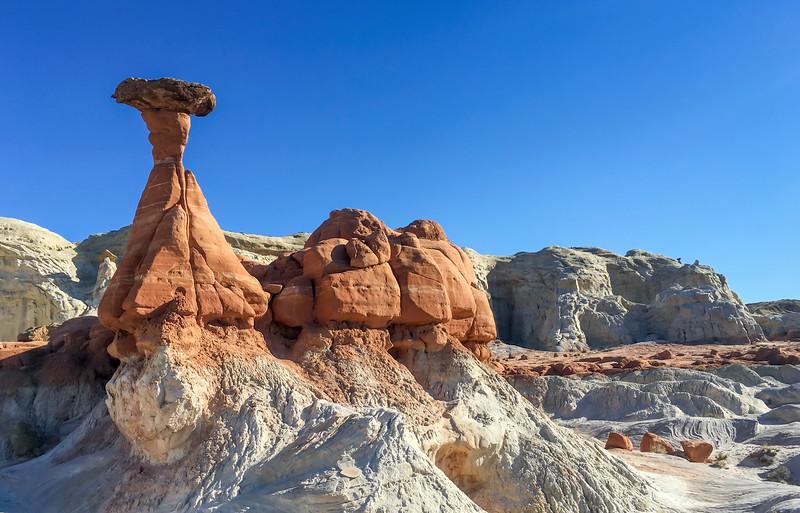 Rimrock Toadstools, Escalante National Monument, UT