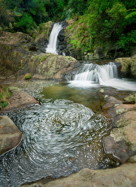 Kaiate Falls, North Island, New Zealand