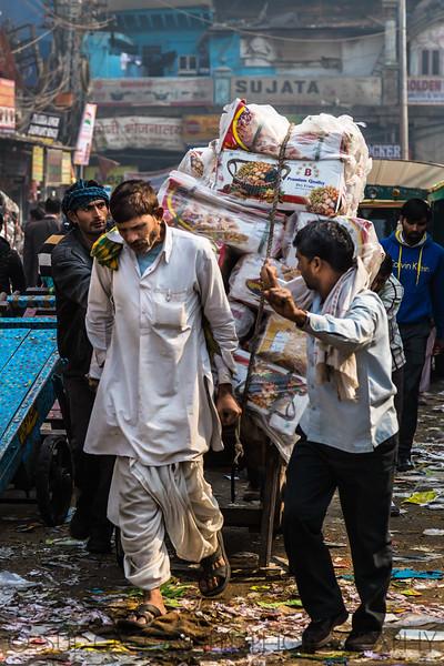 Daily Toil, Old Delhi