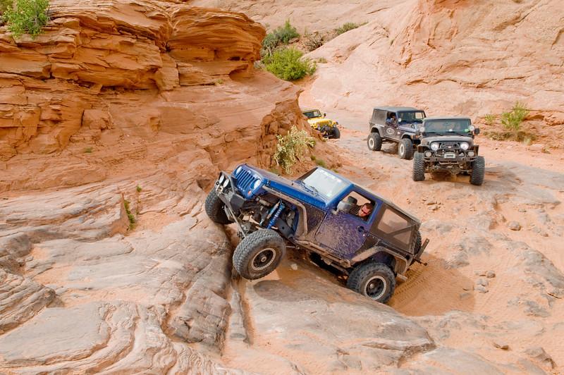 Utah, Poison Spider Mesa Trail