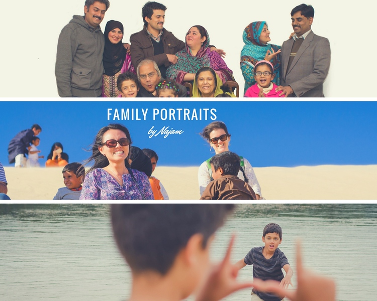 Family Portraits Photography by Najam Images