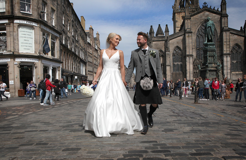 Royal Mile Wedding Edinburgh