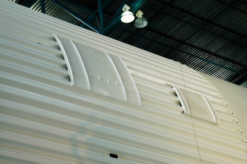 This is an additional access door which was on the Position IIII side of S-IC-T, now on display at KSC.  This door was not on flight articles.