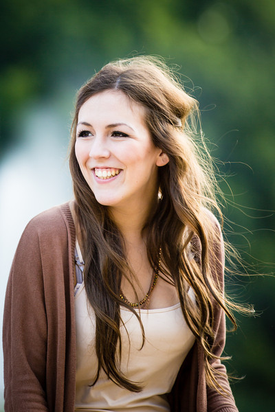 Portrait junge Dame im Park - Fotograf Matthias Michel