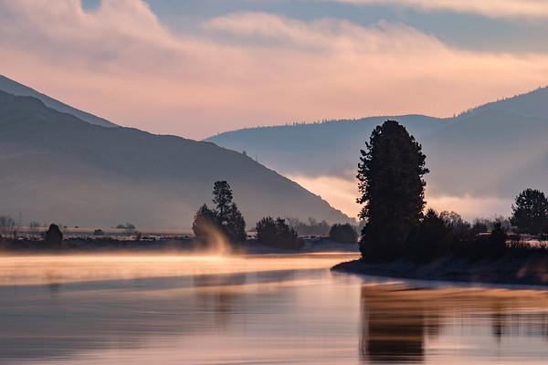 Misty Flathead River