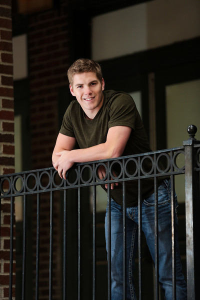 Wichita Senior Portrait Photographer, Joshua Ayres Photography