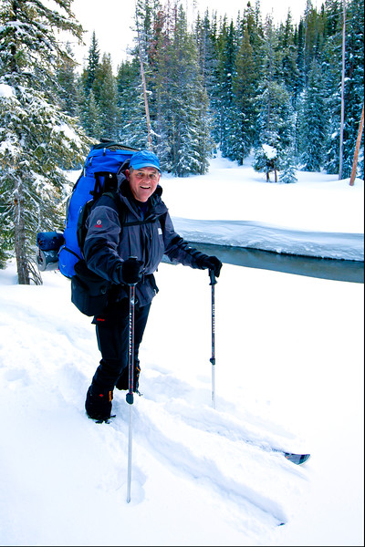 Backcountry Skiing in Yellowstone