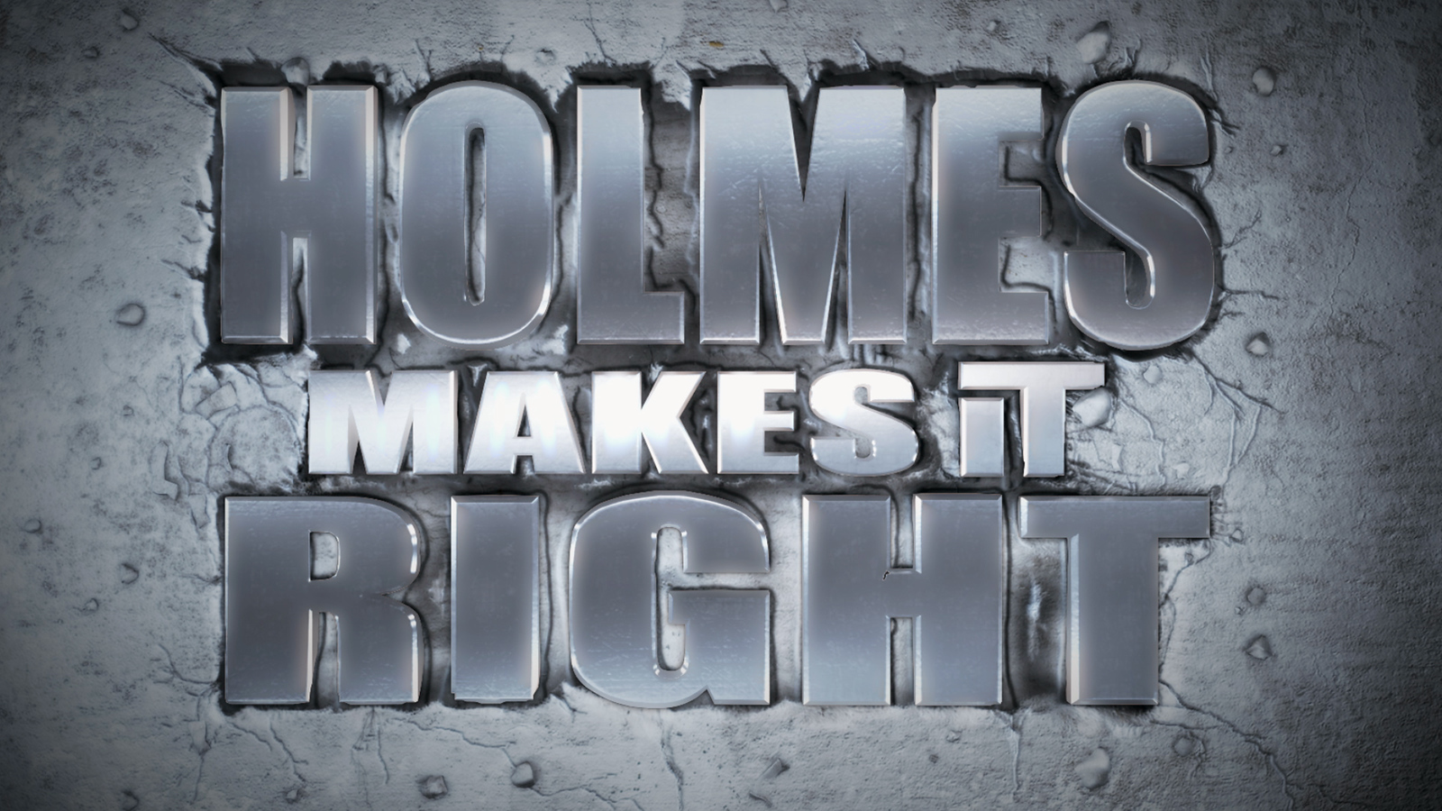Holmes Makes It Right Demo Logo