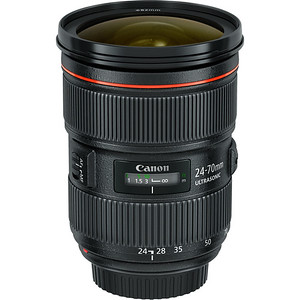 Canon 24-70mm f/2.8L EF II (USM) Lens