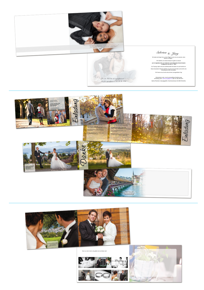 Hochzeitskartendesign