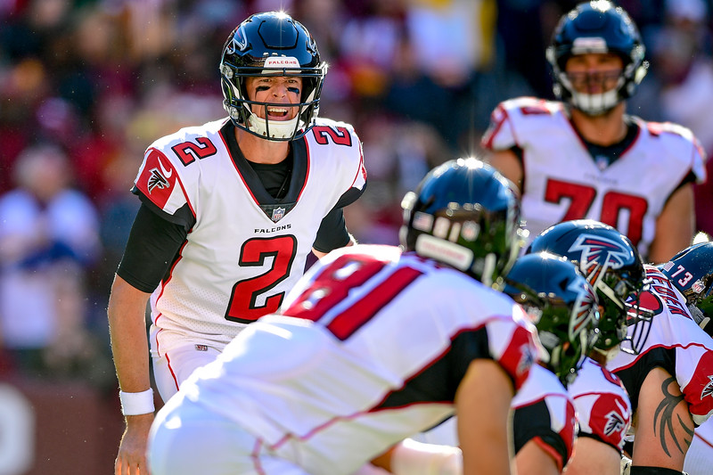 NFL: Atlanta Falcons at Washington Redskins
