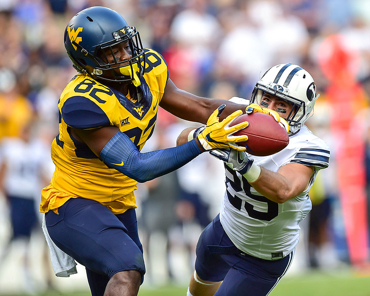 NCAA FOOTBALL SEPT: BYU vs. West Virginia