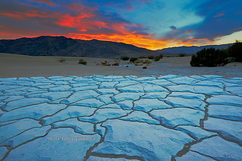Panamint Mountains Sunset
