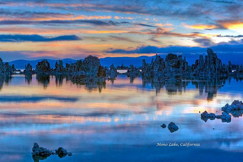 Pastel Sunrise, Mono Lake