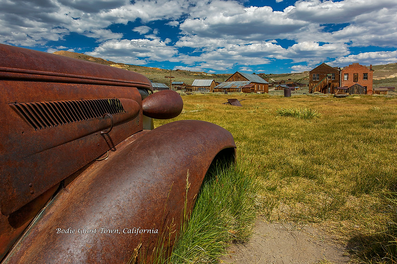 1937 Chevrolet in Bodie Ghost Town