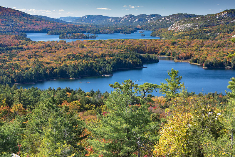 View from the Crack Trail, Killarney Provencial Park
