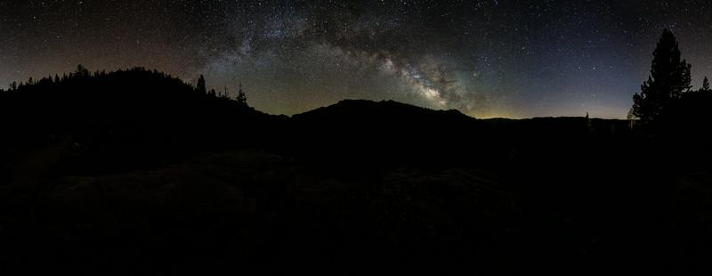 Milky Way at Sonora Pass