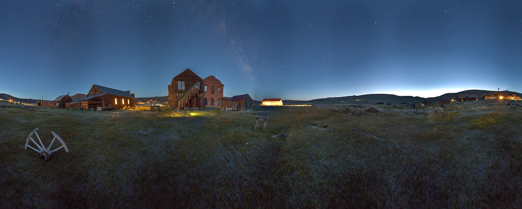 Bodie Night Panorama