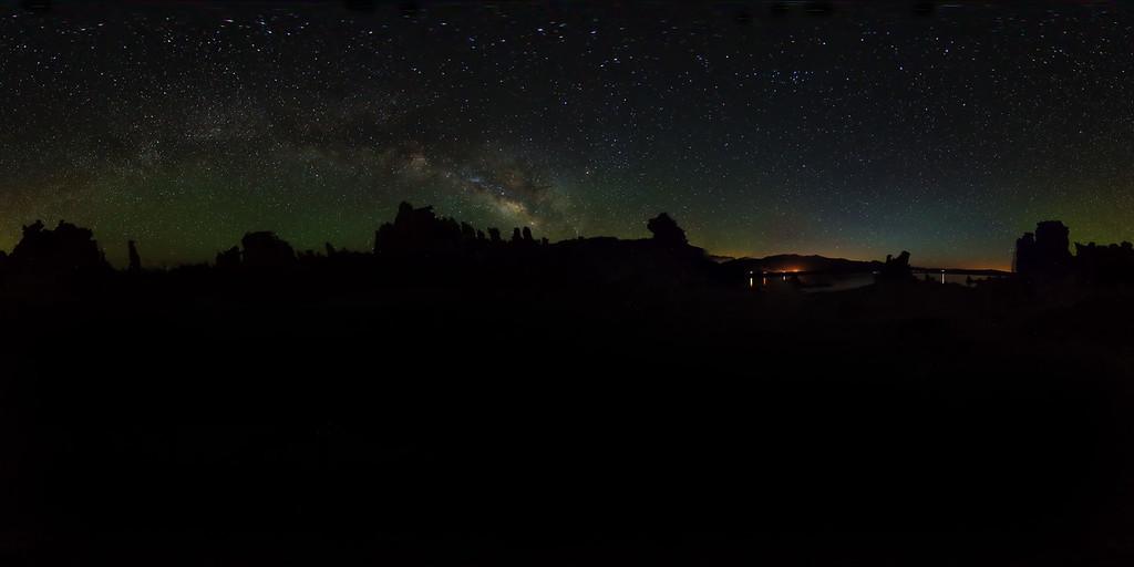 Mono Lake Milky Way Silhouette