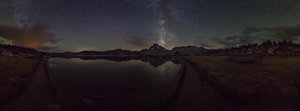 Stormy Milky Way