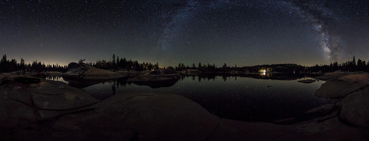 Milky Way Panorama over Utica