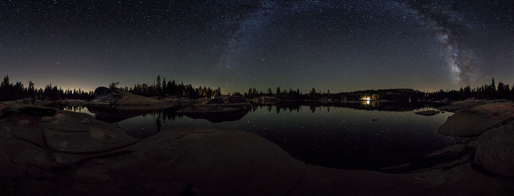 Milky Way Panorama over Utica