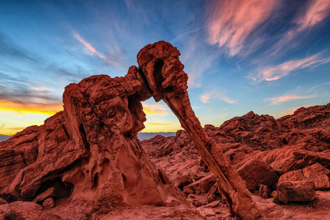 Nevada sunrise