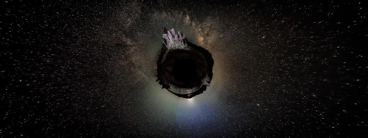Mono Lake Milky Way Planet
