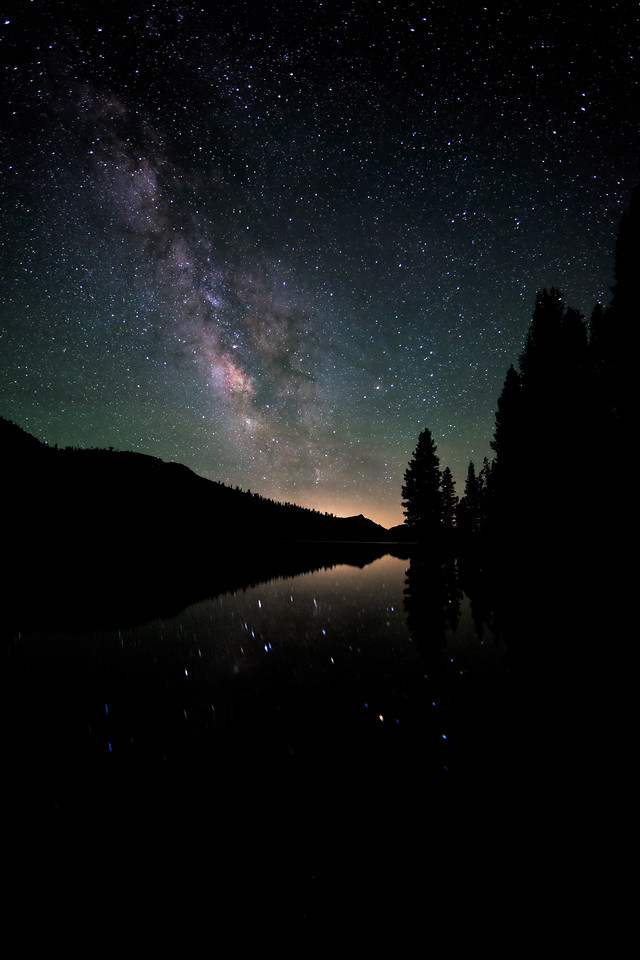 Tenaya Lake, Milky Way