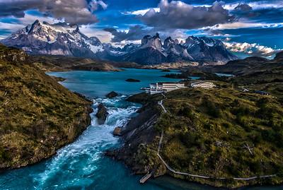 Patagonia - Panoramic Aerial
