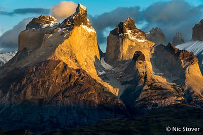 Patagonia – Horns in Sunlight