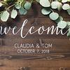 Claudia & Tom