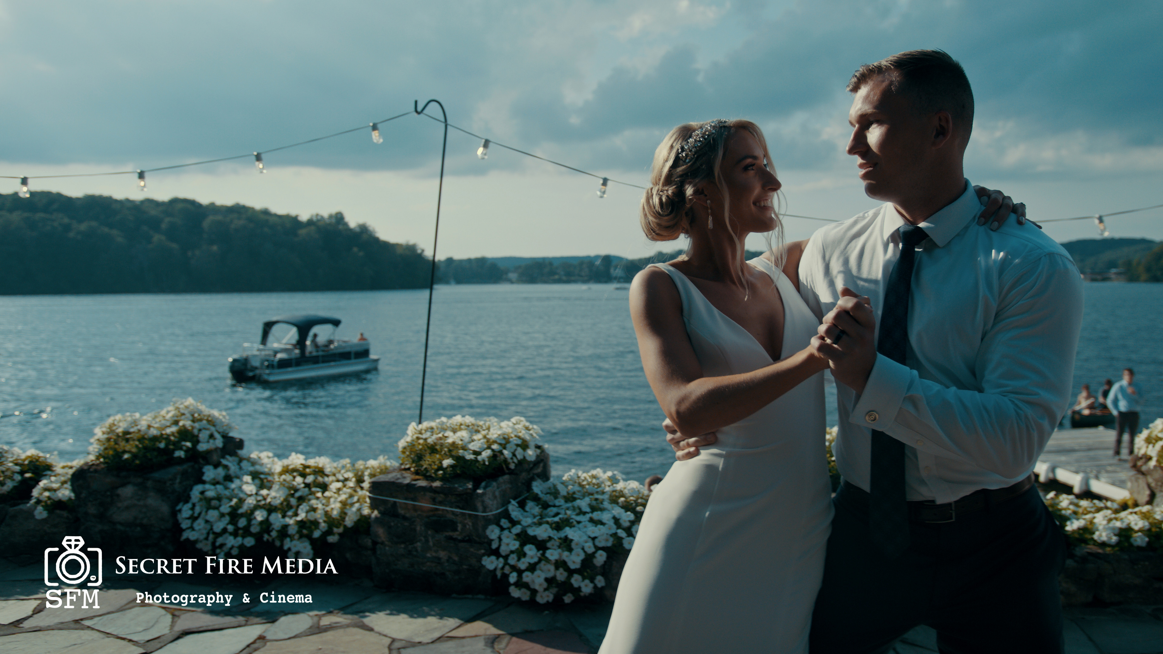 Julie and Alex Hudson Valley Wedding Video on Lake Mahopac