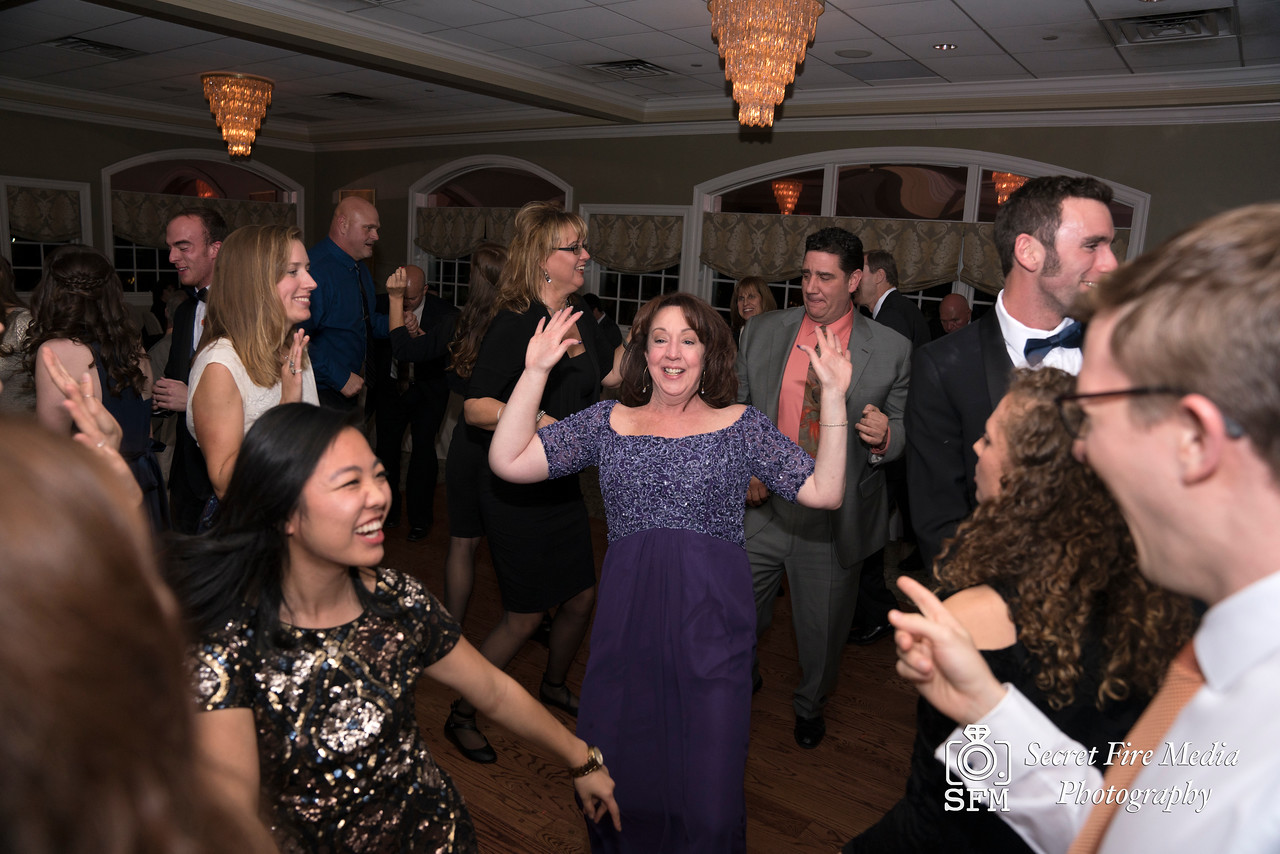Mother of Bride dances at Hudson Valley Wedding At Links At Union Vale in New York