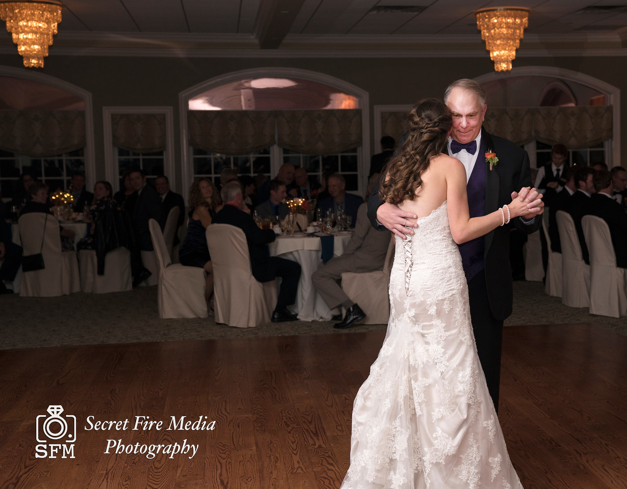 Father of Bride dance Hudson Valley Wedding At Links At Union Vale in New York