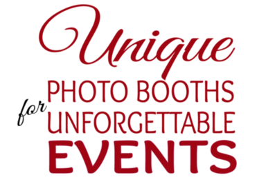 Unique Photo Booths for Unforgettable Events