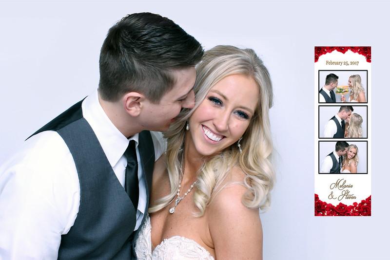 Melanie & Steven's Wedding Booth