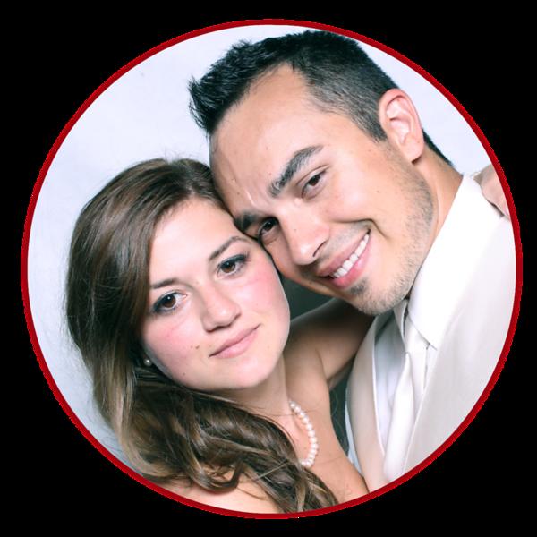 Tabitha and Brandon's Wedding Photo Booth