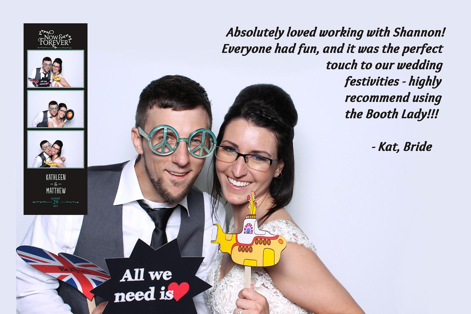 Kat and Matt's Wedding Reception