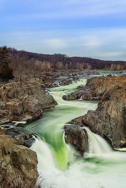 Artsy Great Falls Glory