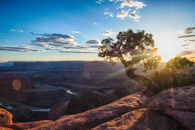 Dead Horse Point State Park Sunset