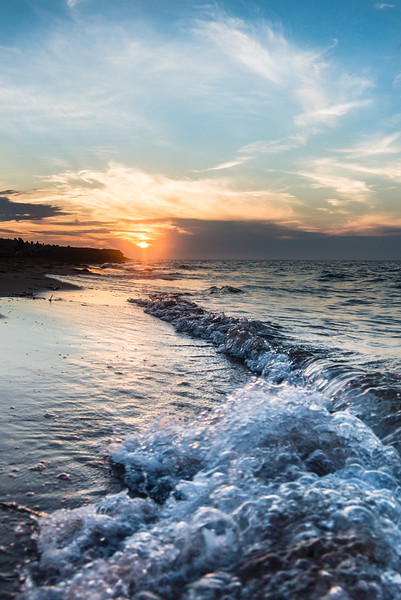 Sunset on the Surf