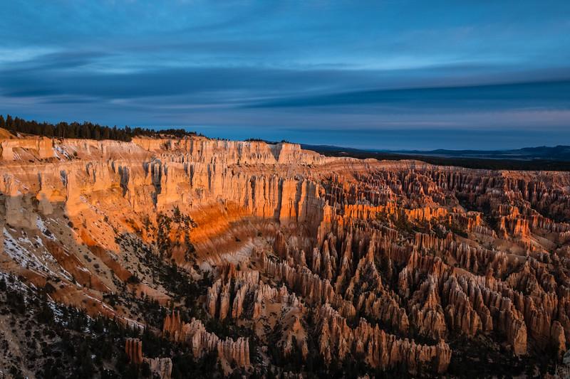 Sunrise Bryce Canyon Hoodoos