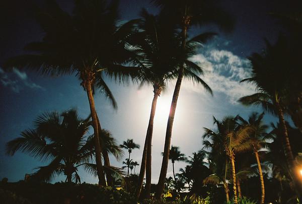 Moon Rising over Puerto Rico 2009  Puerto Rico