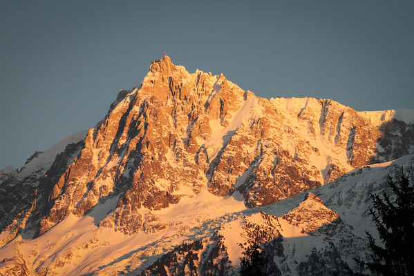 Mt Blanc 2012  Chamnoix France