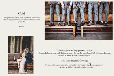 Wedding Package - G O L D