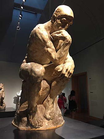 A visit with rodin